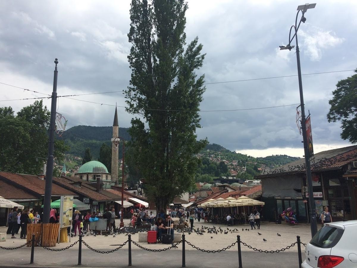 サラエボ ボスニア 観光 一人旅