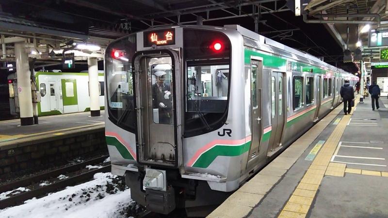 仙台行きの東北本線