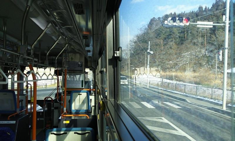 BRTの車内