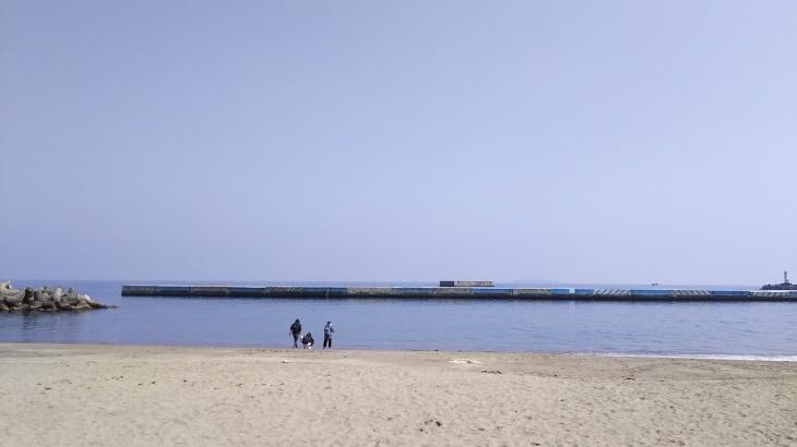 熱海の海岸