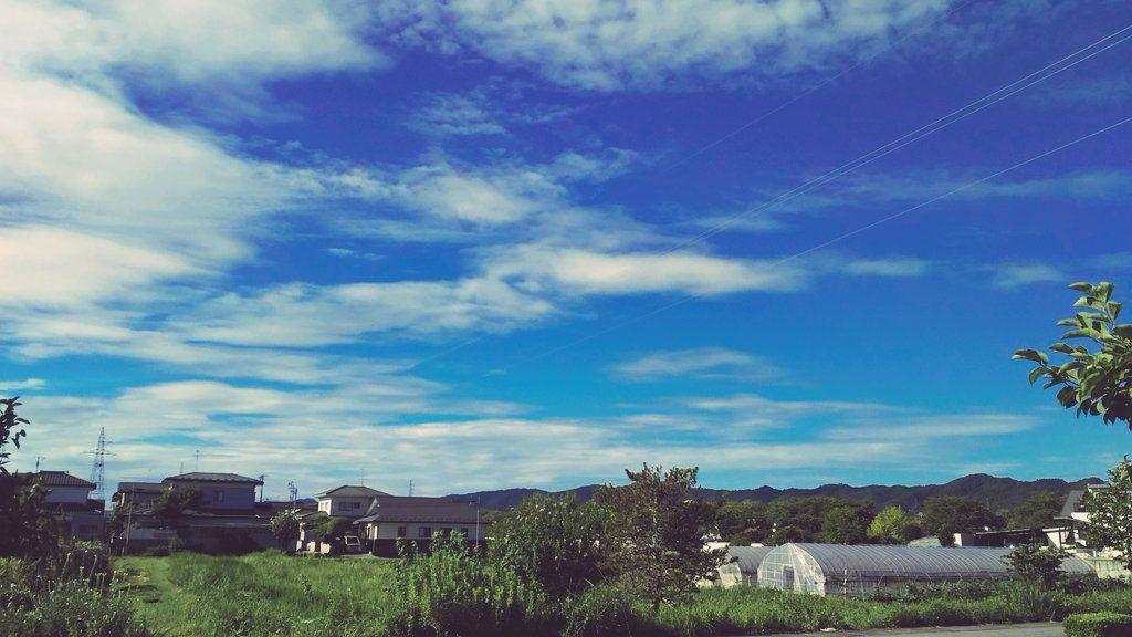 亘理町の空