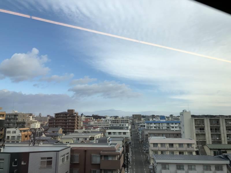 東北新幹線の車窓