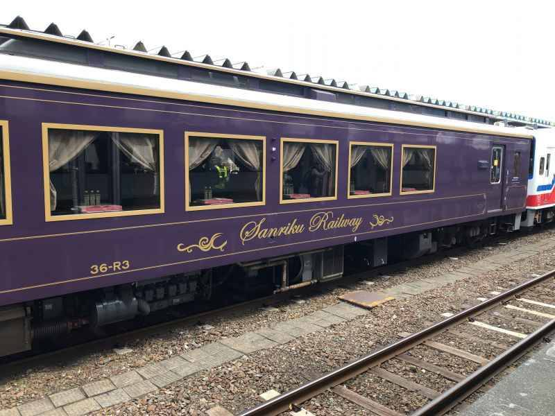 三陸鉄道リアス線記念列車