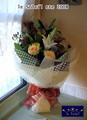 [花屋][花束][名古屋市名東区一社][配達]春の花束