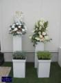 [アートフラワー][名古屋市名東区一社][花屋]アートフラワースタンド花 名古屋祝花