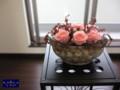 [プリザーブドフラワー][名古屋市名東区一社][花屋]プリザーブドフラワーアレンジ 名古屋 モダン