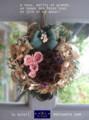 [クリスマスリース][プリザーブドフラワー][名古屋市名東区一社][花屋]クリスマスリース2008プリザーブドフラワー単発講座