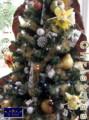 [クリスマスツリー][アートフラワー][名古屋市名東区一社][花屋]アートフラワークリスマスツリー 名古屋