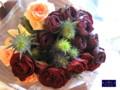 [花束][名古屋市名東区一社][花屋]赤バラの花束