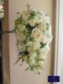 [ウエディングブーケ][名古屋市名東区一社][花屋]新婦のお姉さん手作りウエディングブーケ