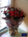 [花束][名古屋市][赤バラ][プロポーズ][花屋][フラワーショップ][名古屋市名東区一社]プロポーズのときに渡す花束