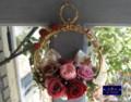 [プリザーブドフラワー][アートフラワー][名古屋市名東区一社][花屋]プリザーブドフラワークリスマスリース2009 le Soleil(ソレイユ)単発講座