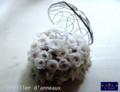 [プリザーブドフラワー][アートフラワー][名古屋市名東区一社][花屋]プリザーブドフラワー 手作りリングピロー 名古屋