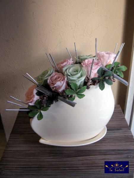 プリザーブドフラワー 結婚記念日 名古屋 le Soleil(ソレイユ)