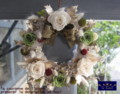 [プリザーブドフラワー][アートフラワー][名古屋市名東区一社][花屋]プリザーブドフラワー 名古屋 クリスマスリース2010