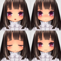 クリスタル・アルマ顔 EXエモーション
