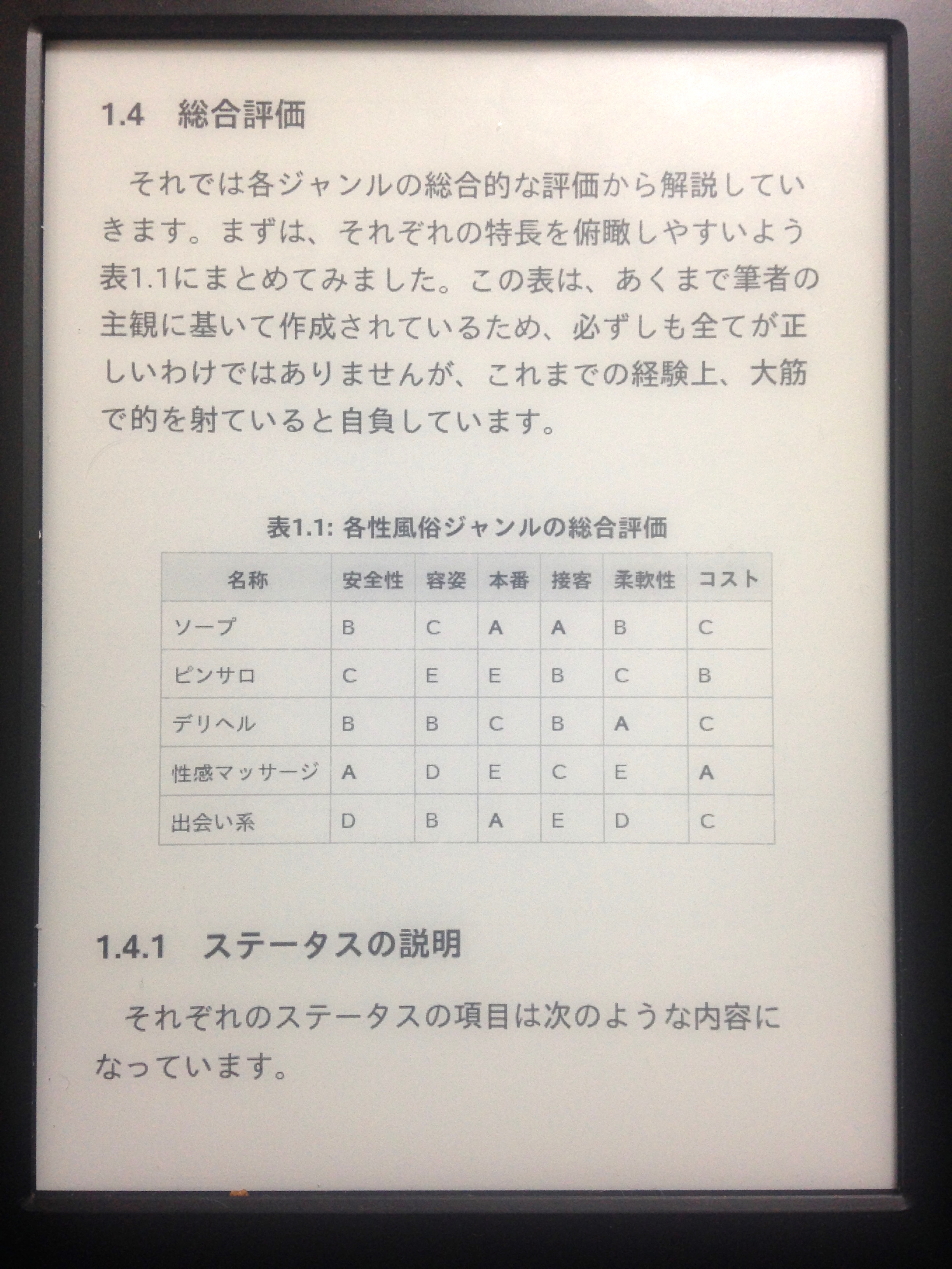 Kindleでの表示2