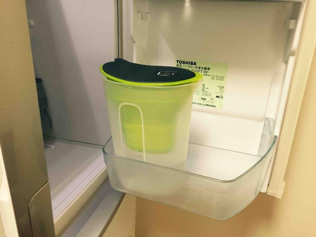 ブリタ浄水器 冷蔵庫