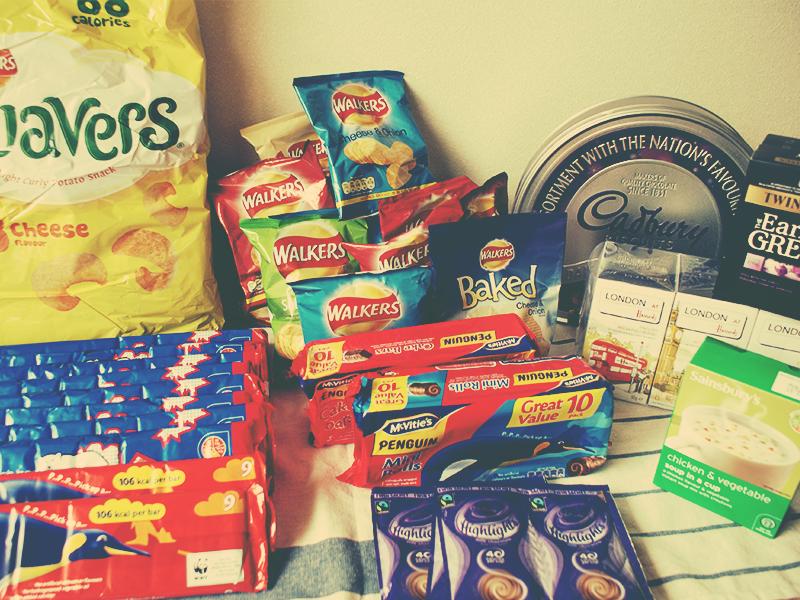 イギリスのスーパーのお土産