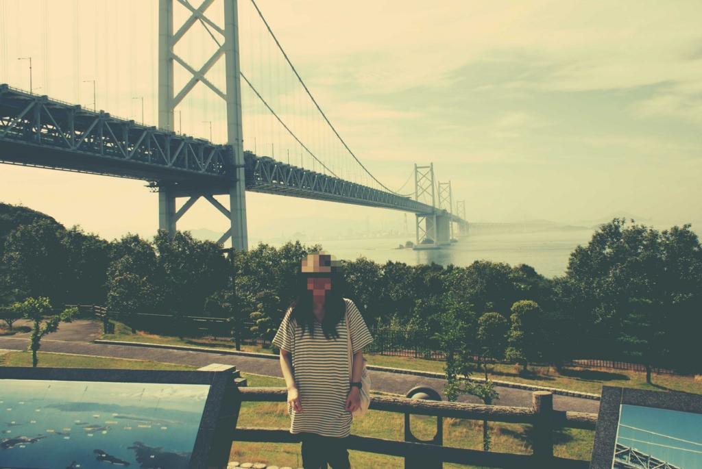 瀬戸大橋の与島PA