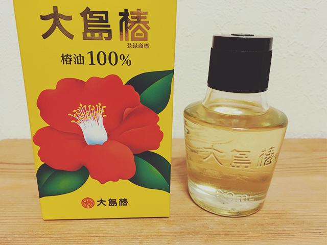 パラパラとした乾燥フケに椿油が効果バツグン
