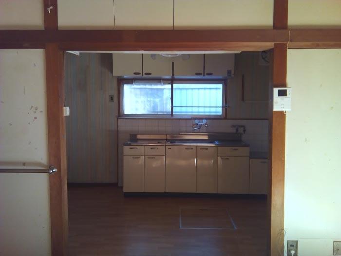 旧内観:キッチン