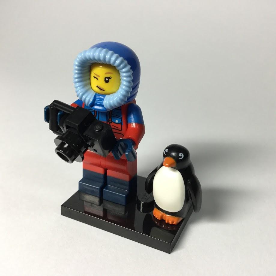 レゴ ミニフィギュア シリーズ16 野生動物写真家