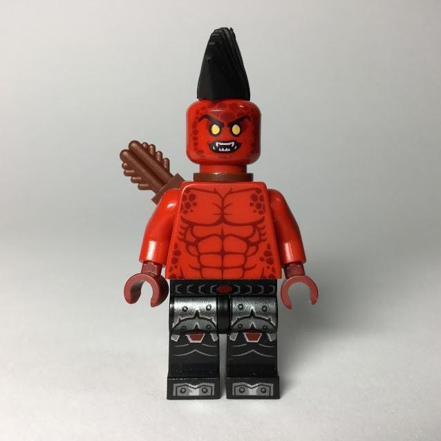レゴ ミニフィギュア ネックスナイツ マグマスロー