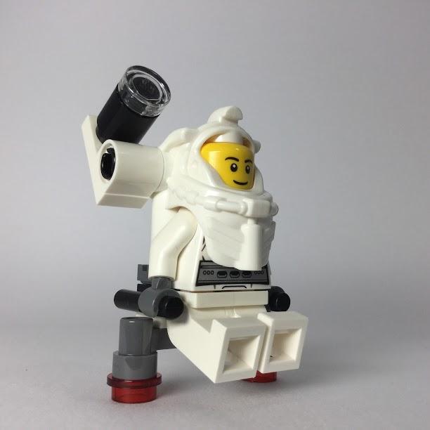 レゴ ミニフィギュア 宇宙飛行士の画像