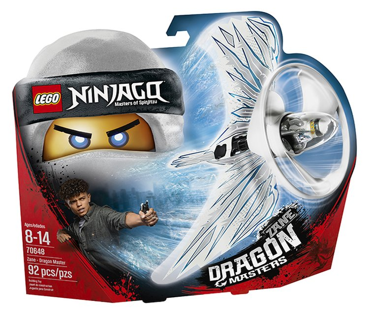 LEGO 2018 Ninjago Masters of Spinjitzu Kai Dragon Masters 92 Pcs Set 70647 New!!