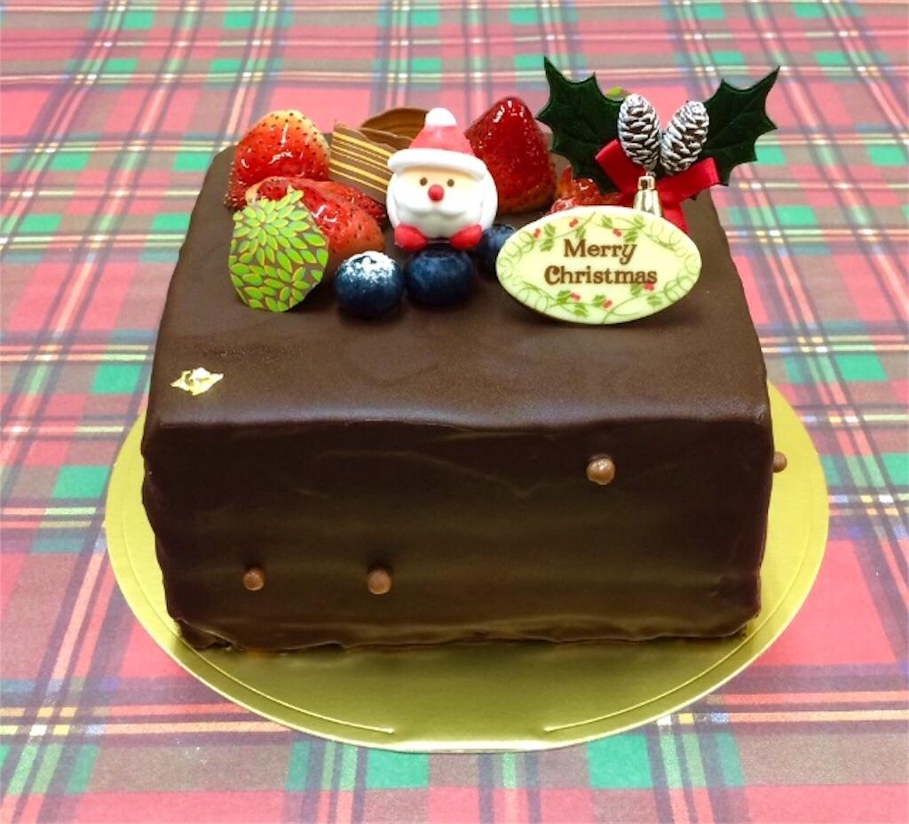 チョコレートのx'masケーキ