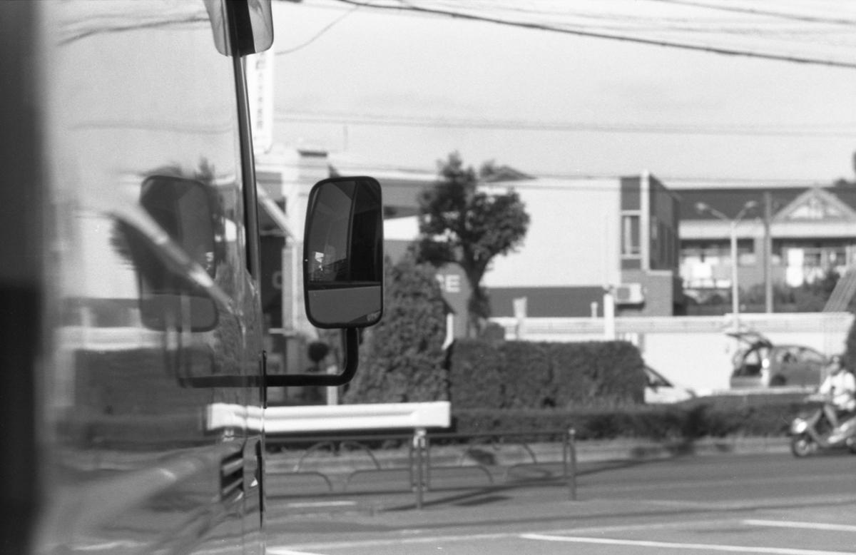 フジカST801にて撮影 モノクロ 自家現像