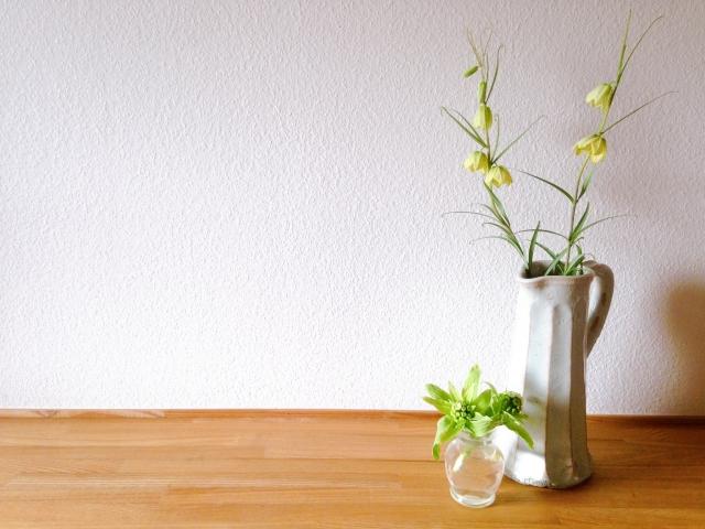 花瓶代わりの水差し