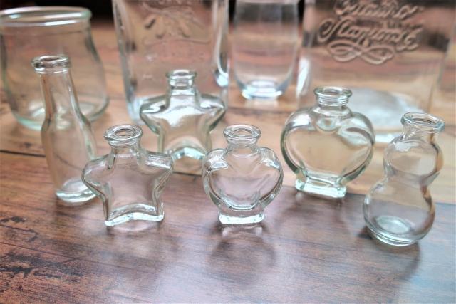 ガラスの容器