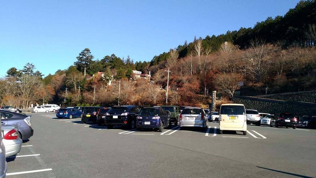 秩父市 三峯神社 駐車場