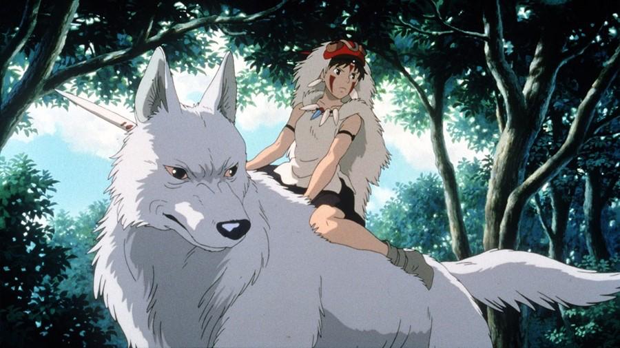 もののけ姫に登場する山犬モロのモデルは三峯神社の狛狼