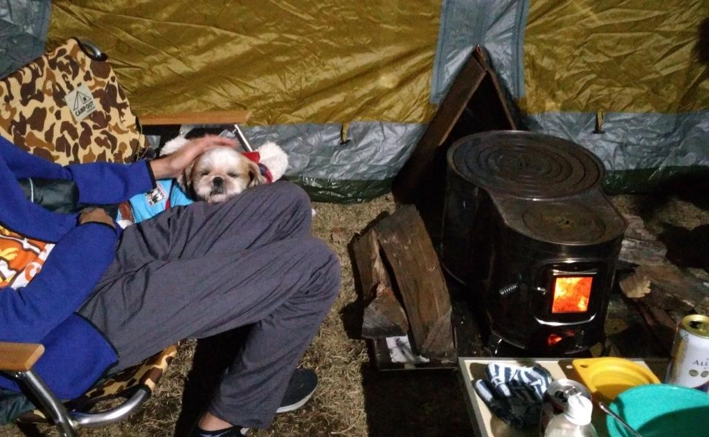 鹿沼市出会いの森オートキャンプ場で薪ストーブキャンプ