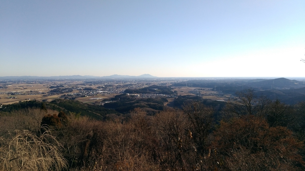 羽黒山神社からの眺め
