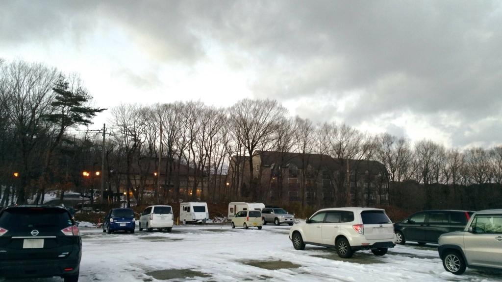 ホテルフロラシオン那須の駐車場