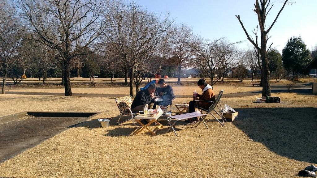 キャンプで焼き肉