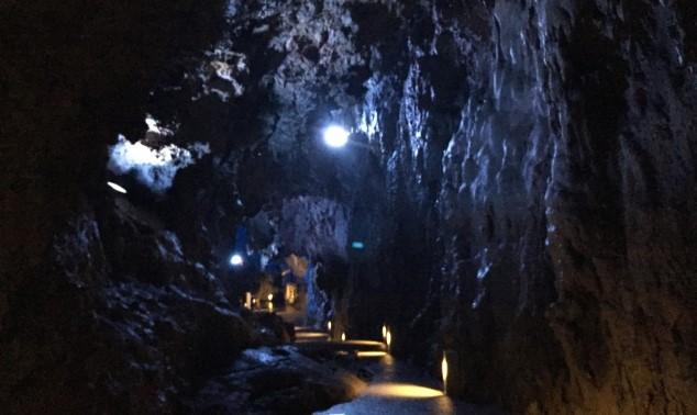 龍泉洞 ハートスポット