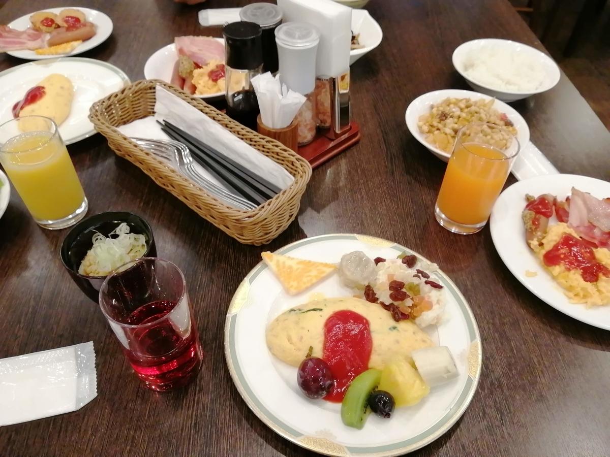 ホテル フロラシオン那須 朝食 バイキング