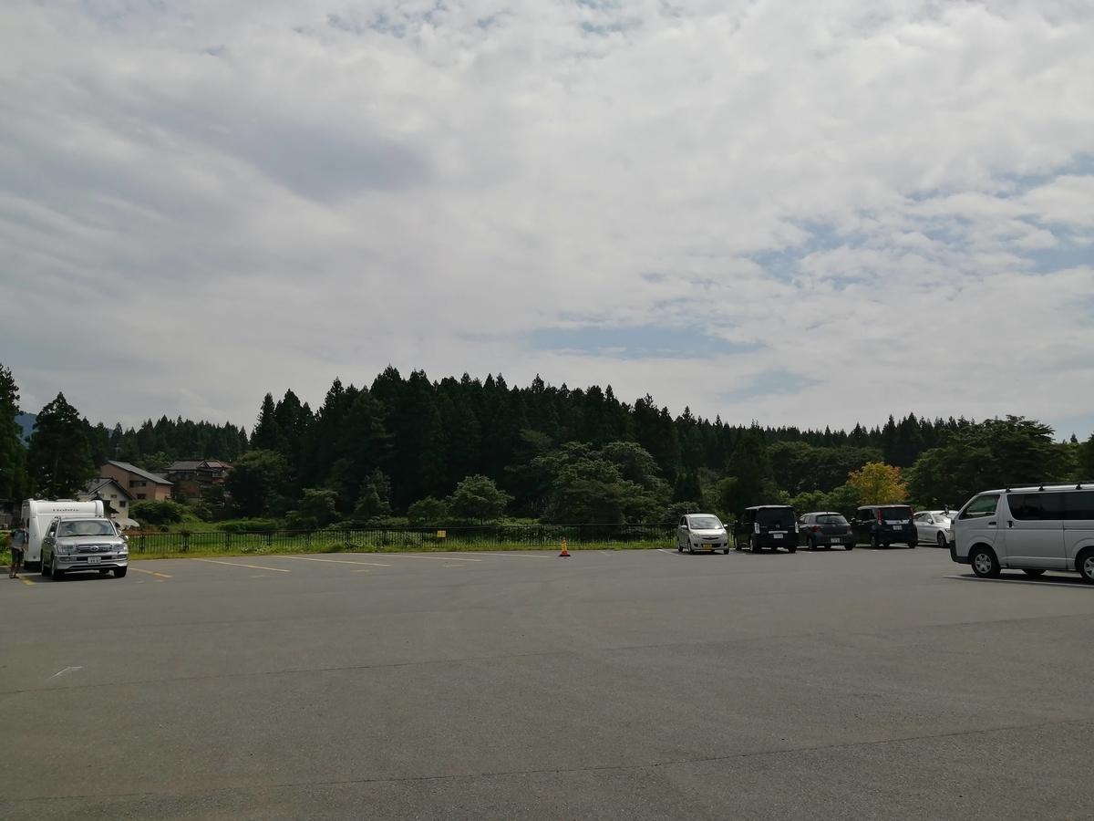 山形県鶴岡市 出羽三山神社 駐車場