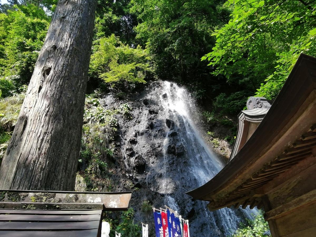 山形県鶴岡市 出羽三山神社 祓川神社 須賀の滝