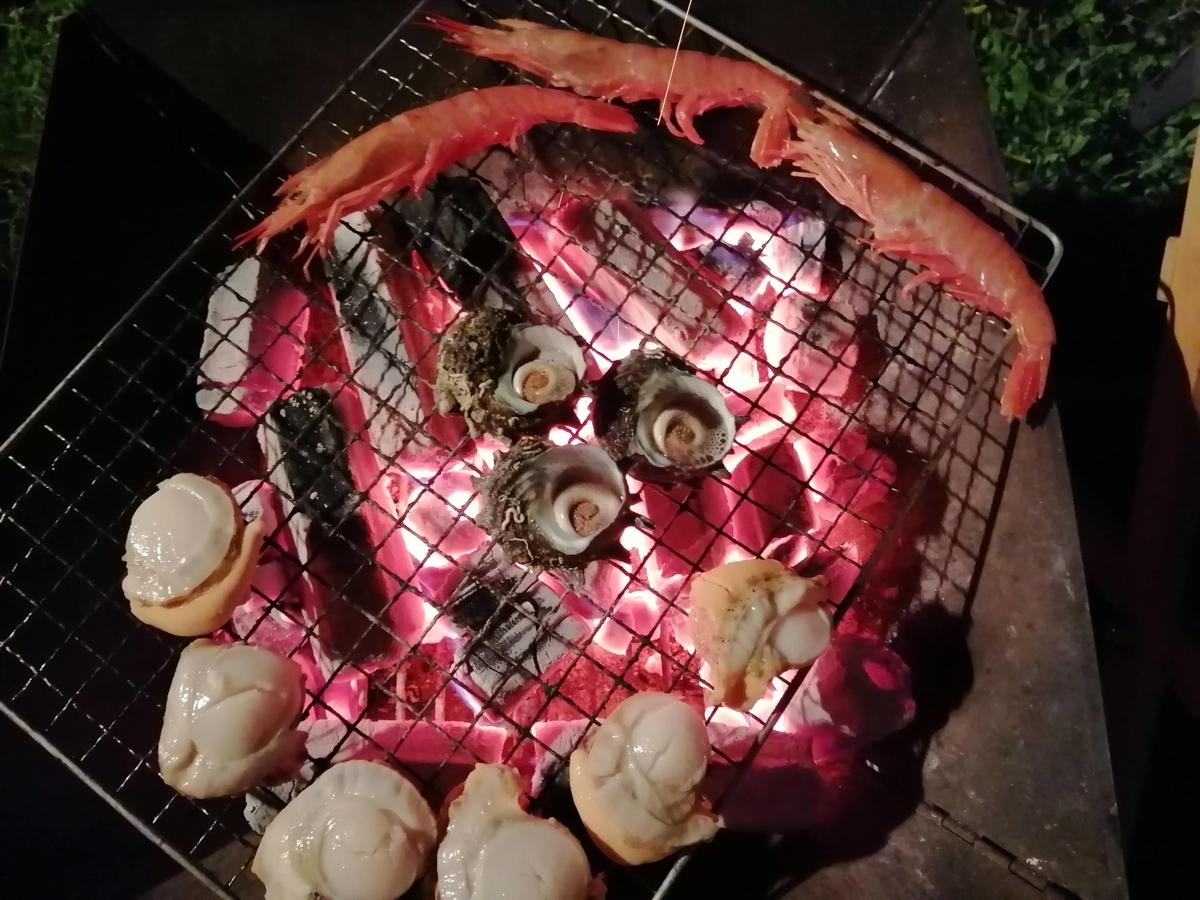 月山あさひサンチュアパーク 海鮮BBQ