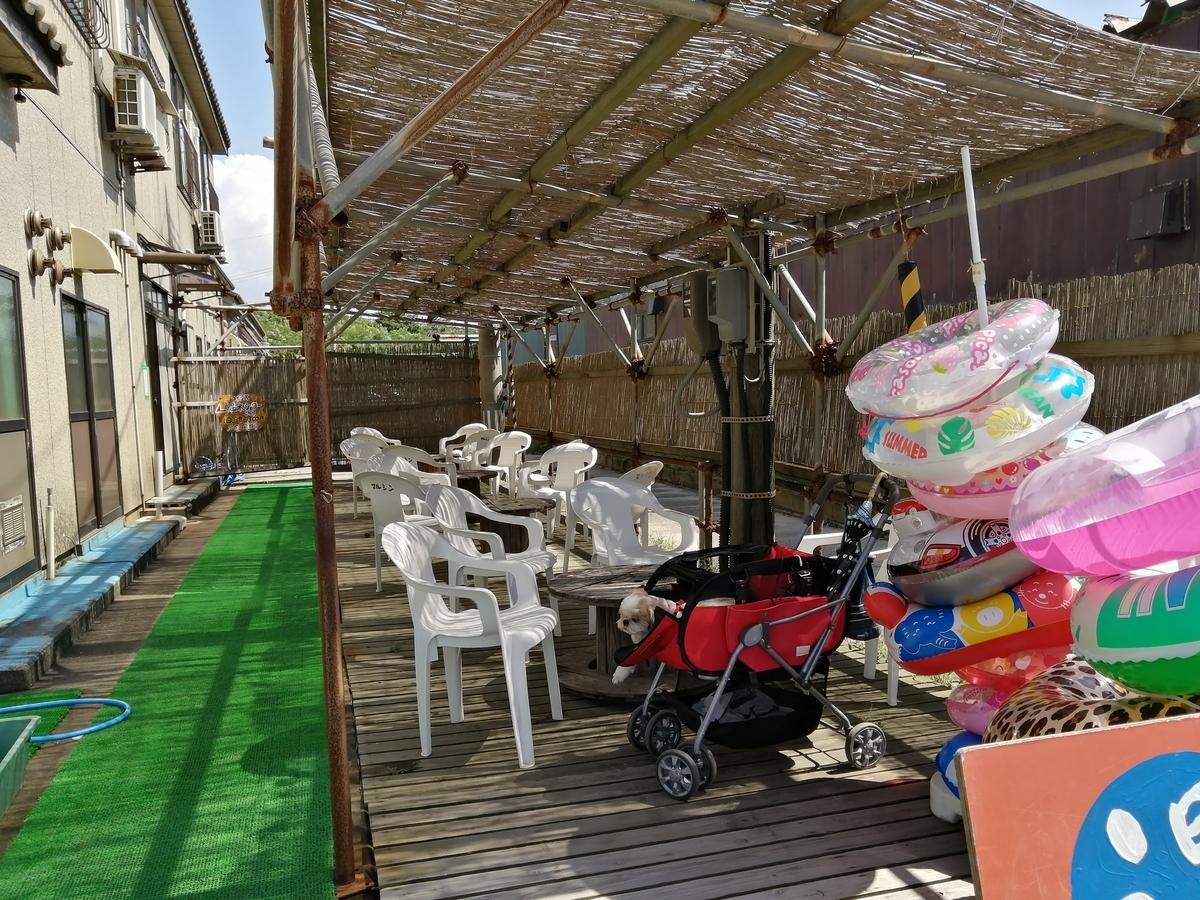 紫雲寺記念公園オートキャンプ場 海水浴 海の家