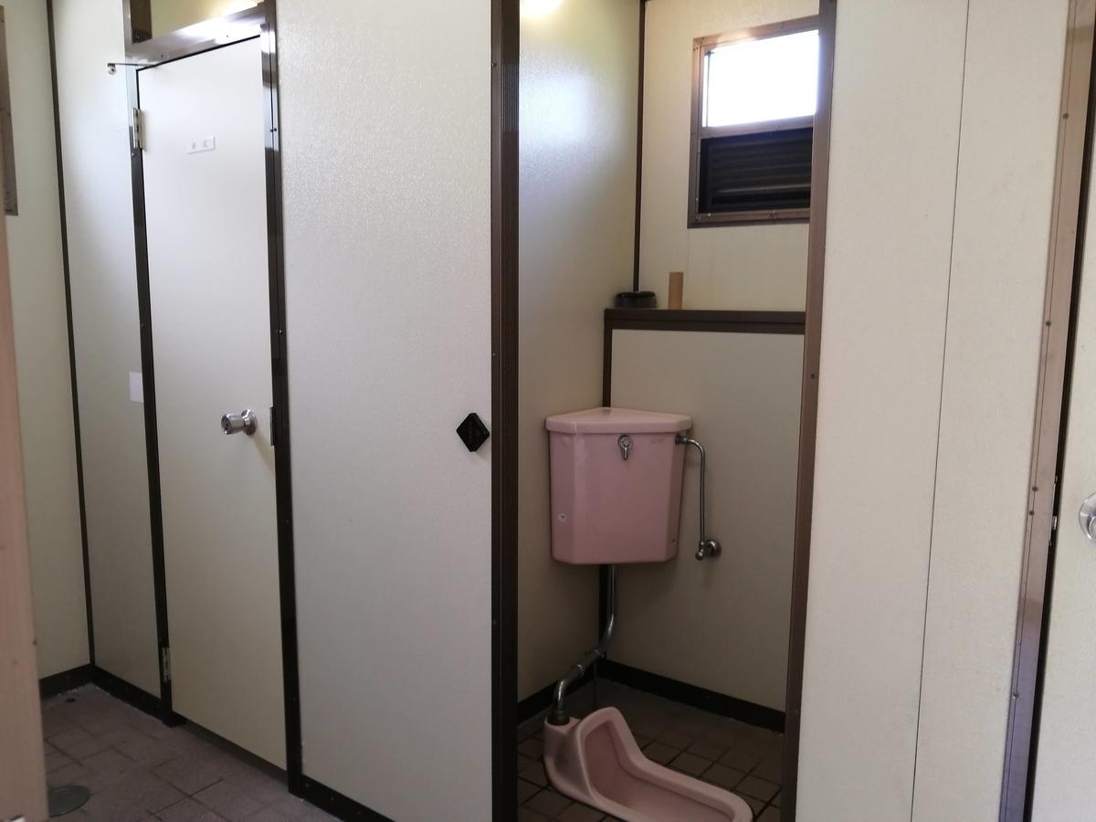 紫雲寺記念公園オートキャンプ場 トイレ