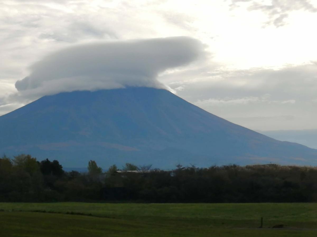 富士山 笠雲
