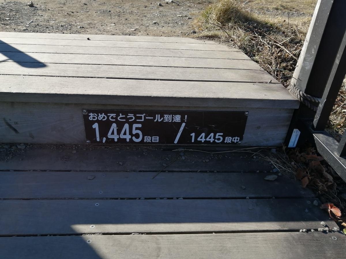日光市霧降高原 キスゲ平園地 天空回廊 1445段