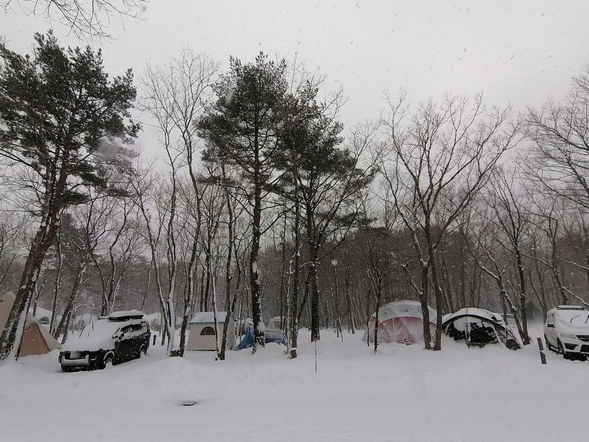 エンゼルフォレスト那須白河 雪中キャンプ